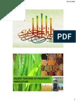Lec 5 Salient Features of Pakistan Agriculture