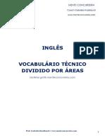 VOCABULÁRIO TÉCNICO - INGLÊS