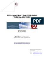 P035 Assessing Delays