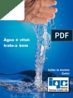 Água é Vida Tratea Bem-sulfato de Aluminio Quelan