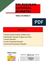 Sistem Rujukan Maternal & Neonatal