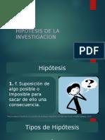 Hipótesis en la investigación
