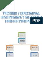 Prestigio y Expectativas, Desconfianza y Fallas en El Ejercicio Profesional