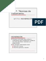 U.T.6.4. INCINERACIÓN