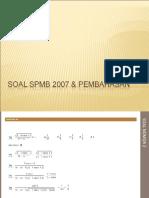 SPMB IPA 2007 PW.ppt