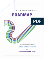Your Jewish Philanthropy Roadmap