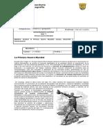 Guía de Primero Medio Primera Guerra Mundial