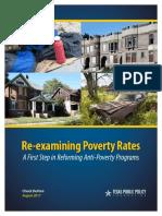 Re-examining Poverty CEF Chuck DeVore