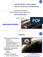 2012 Panashchenko IPC Art of Metal Whisker Appreciation (NASA)