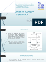 Reactor Batch y Semibatch