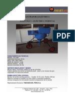 Ficha Tecnica Lechadora TLC-V060