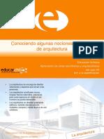 nociones de arquitectura