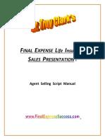 DrTroyClark FinalExpense SalesScript MANUAL