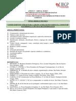 ANEXO v – Conteúdos Programáticos - Consolidado Até Errata 01