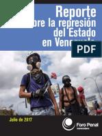 Informe Represion Julio 2017