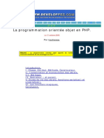 La programmation orientée objet en PHP (Hachesse) [eBook, French, Computers, Programming Langage, Verified by Ghost] - Oct. 2002.pdf