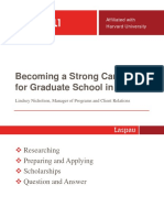 Becoming a Strong Candidate Final