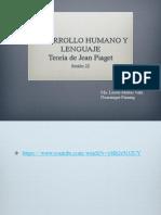 Clase 22 teoría de Jean Piaget