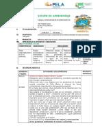 SESION de PERSONAL SOCIAL Contaminacion Ambiental Taller