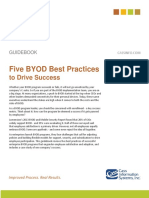 Best Practices in BYOD - Cass