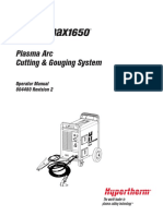 Powermax1650 Operator Manual