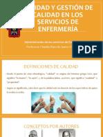 Calidad y Gestión de Calidad en Los Servicios (1)