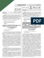 Aprueban Reglamento Que Regula La Presentacion y Contenido d Decreto Supremo n 013 2016 Sa 1350762 1