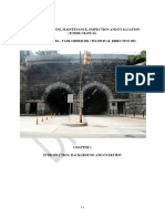 TUNNEL OPERATIONS, MAINTENANCE, INSPECTION AND EVALUATION (TOMIE) MANUAL