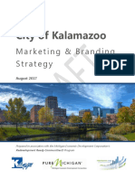Kalamazoo Branding and Marketing Strategy (Draft)