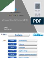 ÃÀÖÞ-Multi-VRFWireless Remote Controller YB1FA C Ok