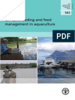 Onfarm Feeding and Feed Management in Aquaculture