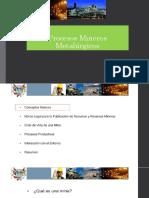 Clase 3 Procesos Mineros y Metalurgicos
