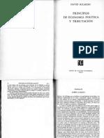 David Ricardo Principios de Economia Politica La Renta de La Tierra (1)