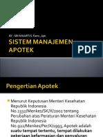 Sistem Manajemen Apotek