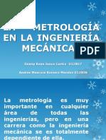 La Metrología en La Ingeniería Mecánica