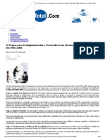 15 Etapas Para La Implementación y Desarrollo de Un Sistema de Gestión de Calidad ISO 9001_2008 _ Sistemas y Calidad Total