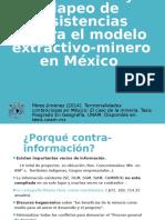 Contra Información y Mapeo de Resistencias Minería