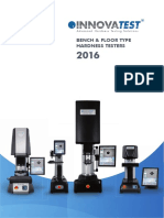 1 Overview Bench Hardness Testers 2016
