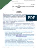 Legea 200-2004 actualizata 03.09.2015