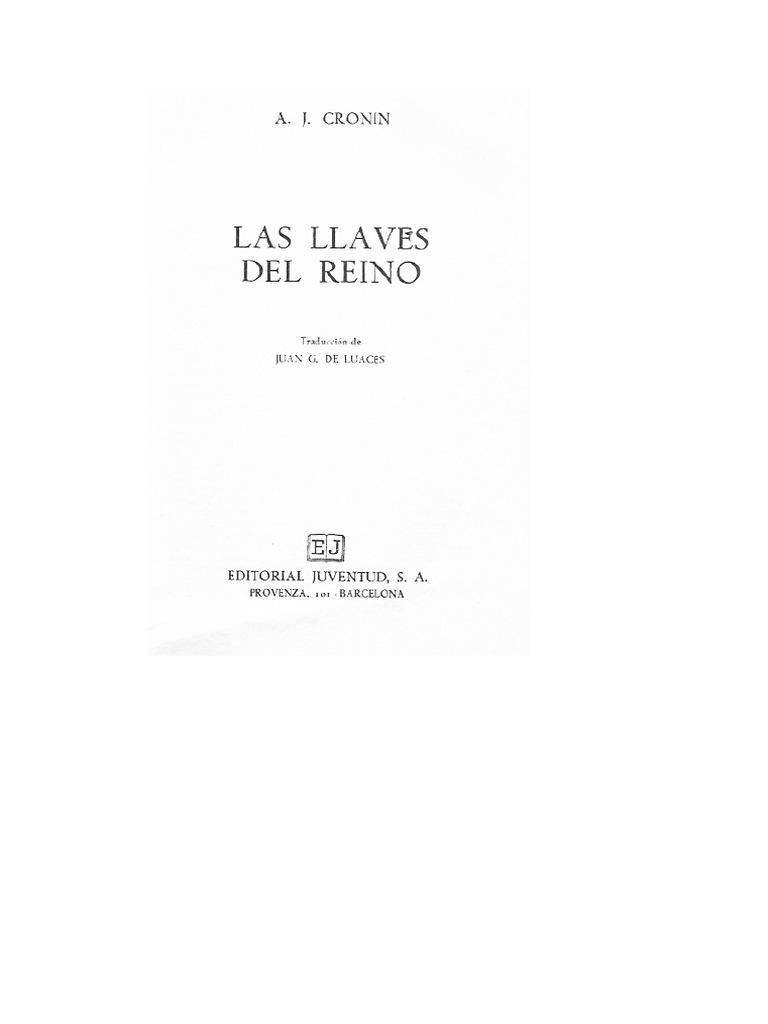 Las Llaves del Reino - A.J. Cronin.pdf