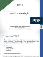 Aula 1 - Introdução TCC 1