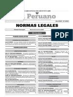 Normas Legales 8 de Agosto 2017 - Editora Peru