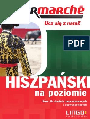Hiszpanski Na Poziomie Ebook średnio Zaawansowany