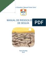 Manual de Gestión de Riesgos Contra Sequias