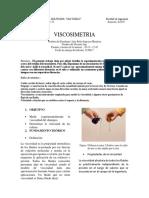 Viscosimentria Lab 1 Fisica 2