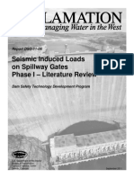 Report DSO-11-06 - Seismic Induced Loads on Spillway Gates - Literature Review