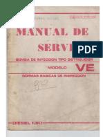 Manual de Servicio Bombas VE (Diesel Kiki)