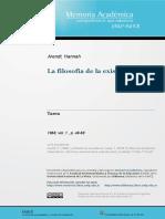 Arendt filosofia da existência.pdf