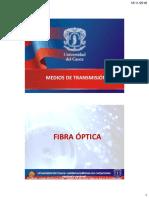 Fibra Optica Medios de Transmisión