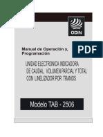 Manual TAB 2506